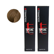 Goldwell Topchic Permanent Hair Color Tubes 7GB - Sahara Beige Blonde *2 SET*