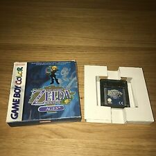 The Legend Of Zelda Oracle Of Ages Nintendo Game Boy Color Boxed - FAST POST