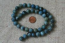 Blaue-Afrikanische-Opal-Strang(Kugel,10,5mm) Q-5590/G