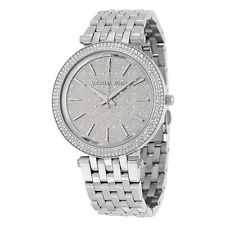MICHAEL KORS MK3404 Darci Silver Tone Crystal Dial Ladies Wrist Watch