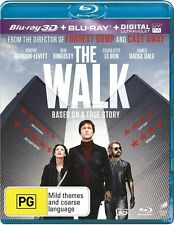 The Walk (Blu-ray, 2016, 2-Disc Set)