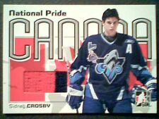 SIDNEY CROSBY  05/06 AUTHENTIC 2-COLOR PIECE OF A GAME-USED JERSEY /60