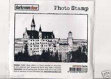 Darkroom Door opaque rubber stamp CASTLE URBAN PHOTO STAMP 8x12cm DDPS028