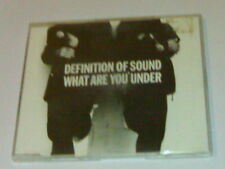 DEFINITION OF SOUND CD 4T WHAT ARE YOU UNDER (1992)