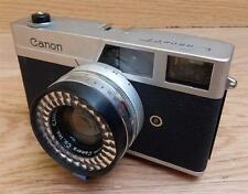 Vintage Canon Canonet 35mm Rangefinder Film Camera - SE 1:19 40mm Lens