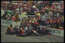 Metal Sign Retro 90S 80S Car Racing 325010 Jeff Andretti At Pit Stop Indy 500 A4