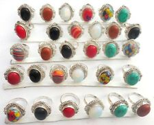EXQUISITE JEWELERY WHOLESALE LOT! 30PCS 925 STERLING SILVEROVERLAY! RING!!
