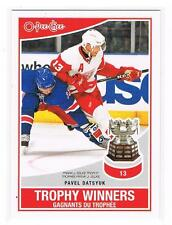 2010-11 PAVEL DATSYUK O-PEE-CHEE TROPHY WINNERS INSERT #TW-7 RED WINGS