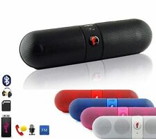 CASSA PORTATILE SD BLUETOOTH WIRELESS VIVAVOCE CELLULARE SPEAKER ALTOPARLANTE 3