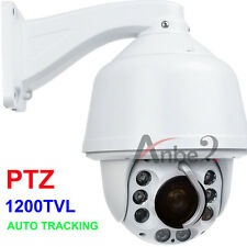 AUTO TRACKING CCTV 30X ZOOM 1200TVL SONY CMOS Security Waterproof DOME CAMERA #2