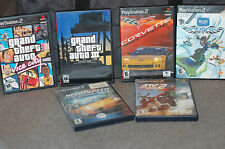 PS2 Game Racing Lot ATV 2 Need for Speed Hot 2 Grand Theft Auto 3 Vice Corvette