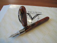 Visconti Van Gogh Maxi Sandal Brown fountain pen medium 14kt gold nib MIB