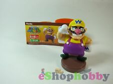 FURUTA Choco Egg Super Mario Series 1 Character Mini Figure Wario #7 Boys