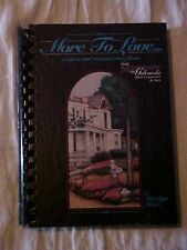 More to Love...Recipes from The Mansion of Golconda Restaurant IL Cookbook SIGN