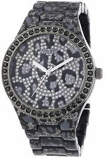 Guess Women's Seductive Leopard Print Resin Watch - W0015L1