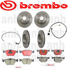Set of 4 Brembo  Brake Rotors + Pads+Sensors ( Front & Rear) E83 BMW X3