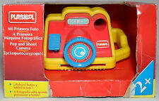 PLAYSKOOL VTG 1994 POP AND SHOOT CAMERA MIP WITH BOX BABY EDUCATIONAL TOY RARE