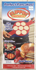 FLIPPIN FANTASTIC easy flip silicone small pancake maker egg pan AS SEEN ON TV!!