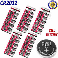 20 x cr2032 Di Marca Hitachi Maxell 3v Litio Moneta Cella Pulsanti Batterie