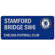 Chelsea Fc 'Stamford Bridge' Strada Strada Firmare Nuovo 100% UFFICIALE BLU (GRATIS P + P)