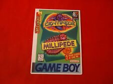Centipede / Millipede Nintendo Game Boy Vidpro Promotional Display Card ONLY