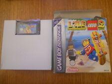 L'ile Lego 2 La Revanche des Casbric Jeu GBA Gameboy Advance PAL Sans Notice BE