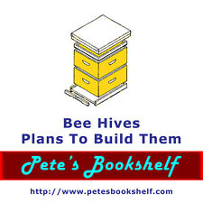 Bee Hives - Plans To Build Them - CD-ROM - Great Plans!!