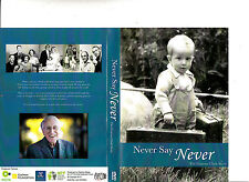 Graeme Clark Story:Never Say Never-Cochlear-NICTA-2013-Biography Australia-DVD