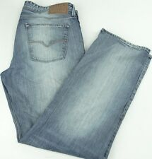 Guess Lincoln-Slim Straight Faded Blue Jeans 38x32