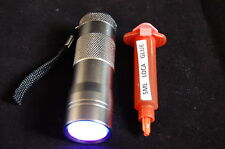 12  LED UV LED TORCH & 5ML  LOCA GLUE FITS SAMSUNG IPHONE HTC, NOKIA