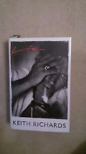 KEITH RICHARDS SIGNED BOOK NOT AUTOPEN
