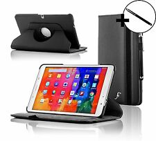 Leather Black Rotating Case Cover for Samsung Galaxy Tab PRO 10.1 + Stylus