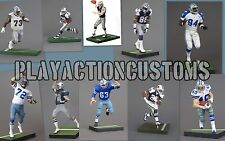 Choice of 1 Dallas Cowboys Custom Action Figure made w/ Mcfarlane NFL