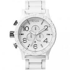 Authentic New Nixon 51-30 Chronograph All White Mens Watch A083-1255 A0831255