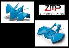 NEW SUZUKI LTR450 06 - 09 PLASTIC ELECTRIC BLUE STANDARD FRONT AND REAR FENDERS