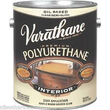 1 Gal Clear Semi-Gloss Oil Based Varathane Interior Furniture Polyurethane 6031