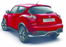 Nissan Juke 2014 Rear Bumper Lower Lip Spoiler Skirt Silver Genuine KE547BV520