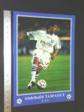 RARE A. TASFAOUT ALGERIE AJ AUXERRE AJA FOOTBALL CPA FRANCE 1996-1997