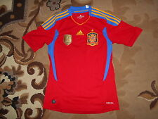 Team Spain 2011/2012 Adidas S HOME 11  ESPANA shirt jersey WORLD CHAMPIONS 2010