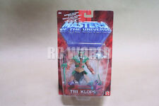 HE-MAN Masters Of The Universe TRI KLOPS Silver  Action Figure *NEW IN BOX*  #K4
