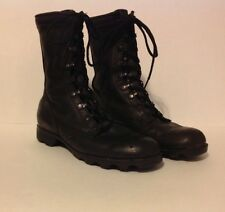 MENS VINTAGE RO SEARCH BLACK LEATHER MILITARY COMBAT LACE UP BOOTS SZ 7R EUC!