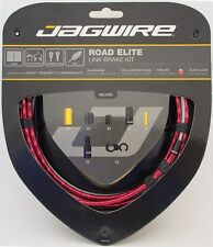 Jagwire Road Elite Link Teflon Coated Brake Cable Kit Sram/Shimano/Campy Red