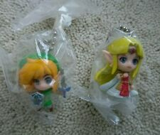 The Legend of Zelda Link Between Worlds gashapon figure swing charm set Nintendo
