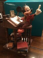 Wdcc Earnest Employee Mickeys Christmas Carol Mint In Box Rare
