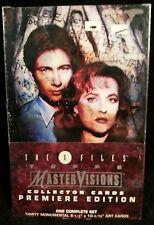 The X-Files Master Visions Collector Cards Premiere Edition Topps complete set