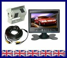 "Rear view system 7"" Colour Monitor & Double twin CCD Camera"