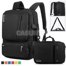 """BRINCH 17""""inch Laptop Tablet Backpack/Notebook Bag/Lightweight Handbag Black"""