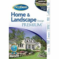 Punch! Home & landscape design premium (Win 7 - vista - xp)*New,sealed*
