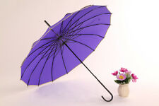 windproof Sun Anti UV Umbrella Wedding Bridal Event Prom Waterproof Brolly