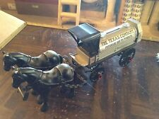 The Texas company petroleum and its products horse drawn ertl diecast bank